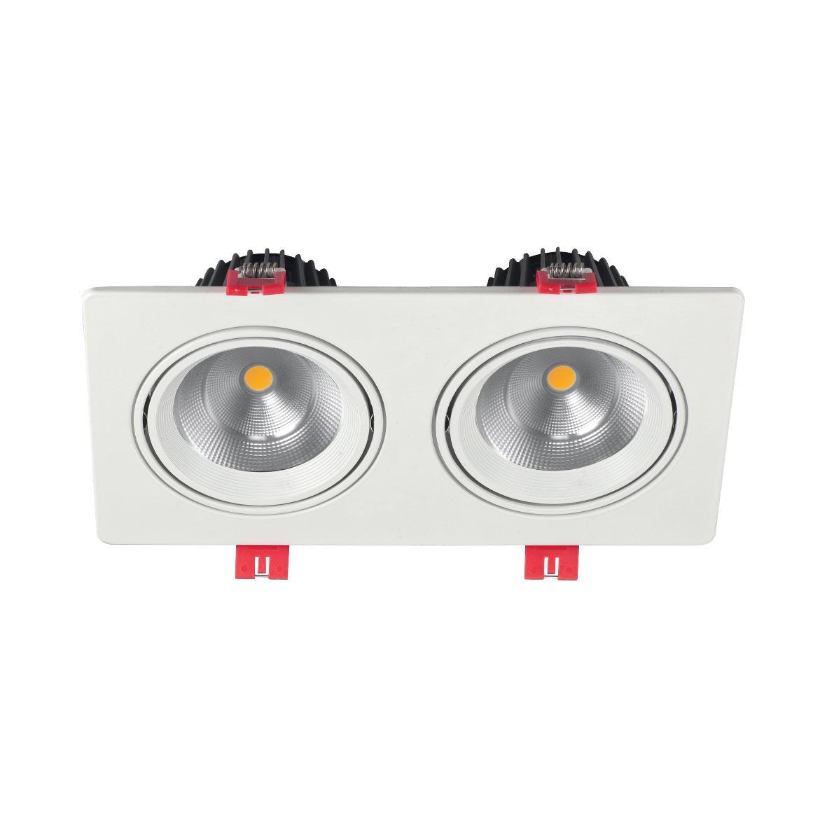 چراغ سقفی توکار SH-6502-2x24W