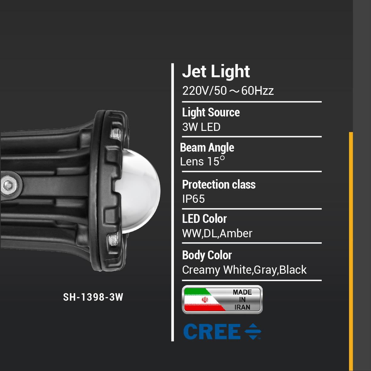 SH-Jet Light-3W