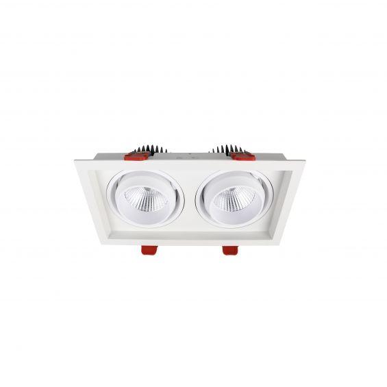 چراغ سقفی توکار SH-6702- 2x36W