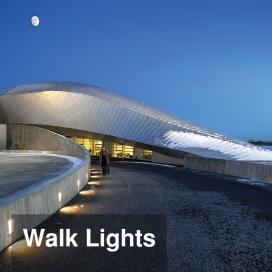 چراغ های زیر و کنار پله ای