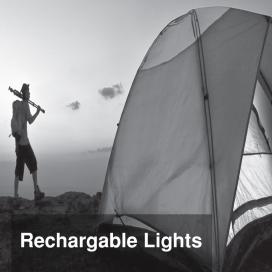 چراغ های شارژی و اضطراری